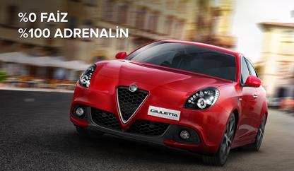 2016 model Alfa Romeo Giulietta 30.000 TL'ye 15 ay %0 faiz