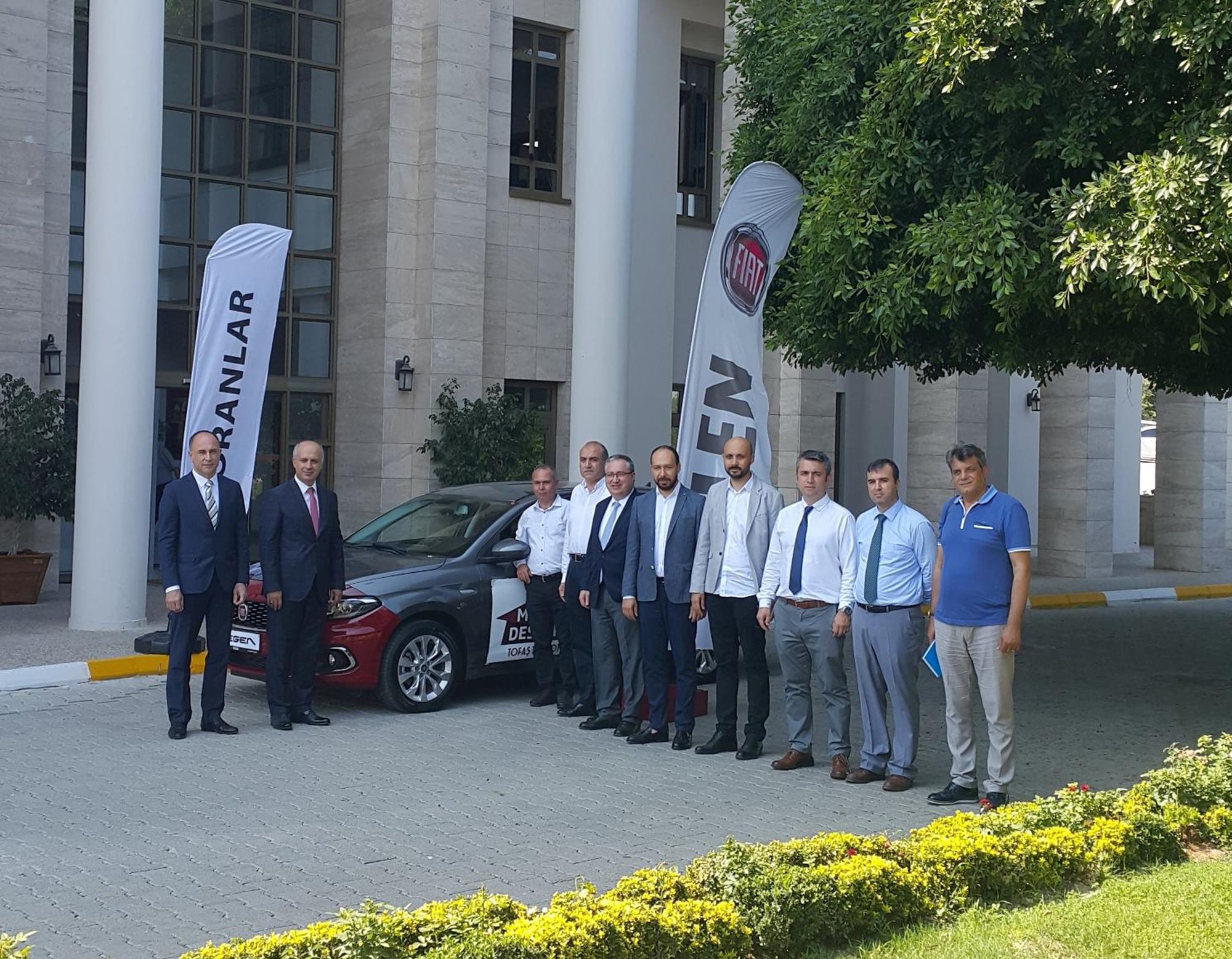 Mersin Üniversitesine TOFAŞ'tan Araç Bağışı