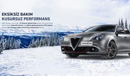Eksiksiz Bakım Kusursuz Performans - Alfa Romeo
