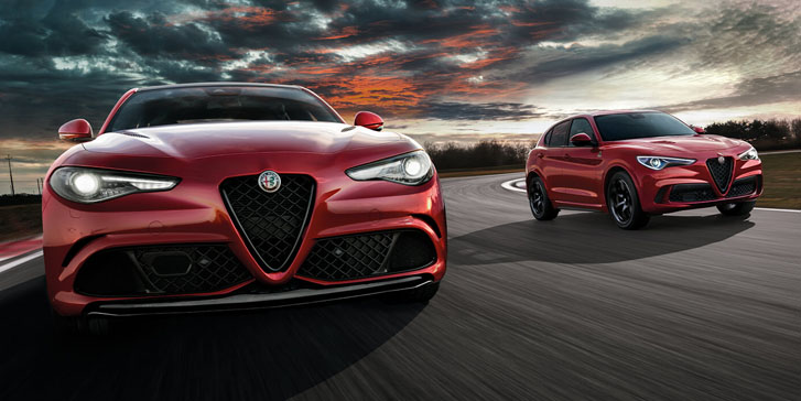 Alfa Romeo Stelvio & Giulia Nisan ayına özel 200.000 TL 12 ay % 0,99 faiz avantajıyla Showroom'larda!